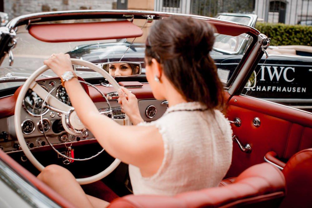 Une journée très 60's avec IWC et Mercedes Benz 2