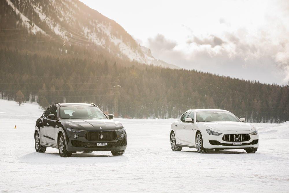 J'ai conduit une Maserati sur la neige et voici ce qu'il s'est passé.... 5