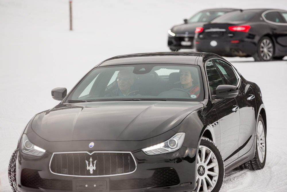 J'ai conduit une Maserati sur la neige et voici ce qu'il s'est passé.... 2