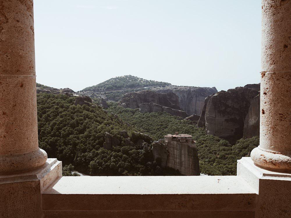 Un monastère perché
