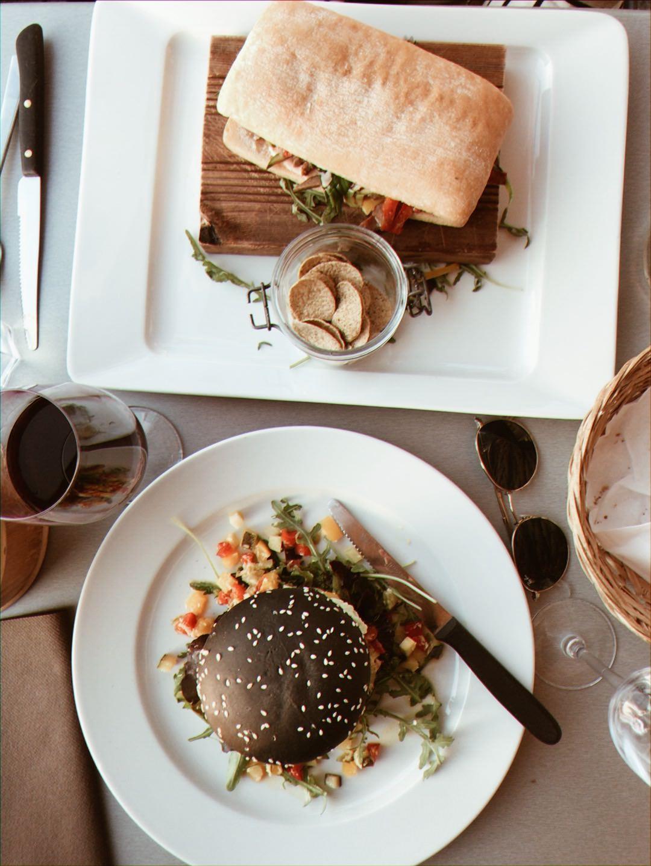 Restaurant Dreilinden - Vegan burger
