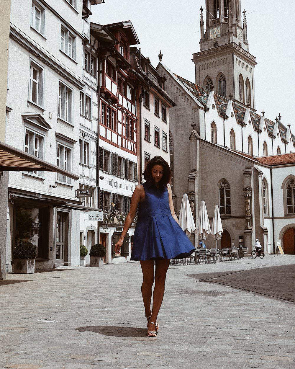 Dans les rues de St Gall