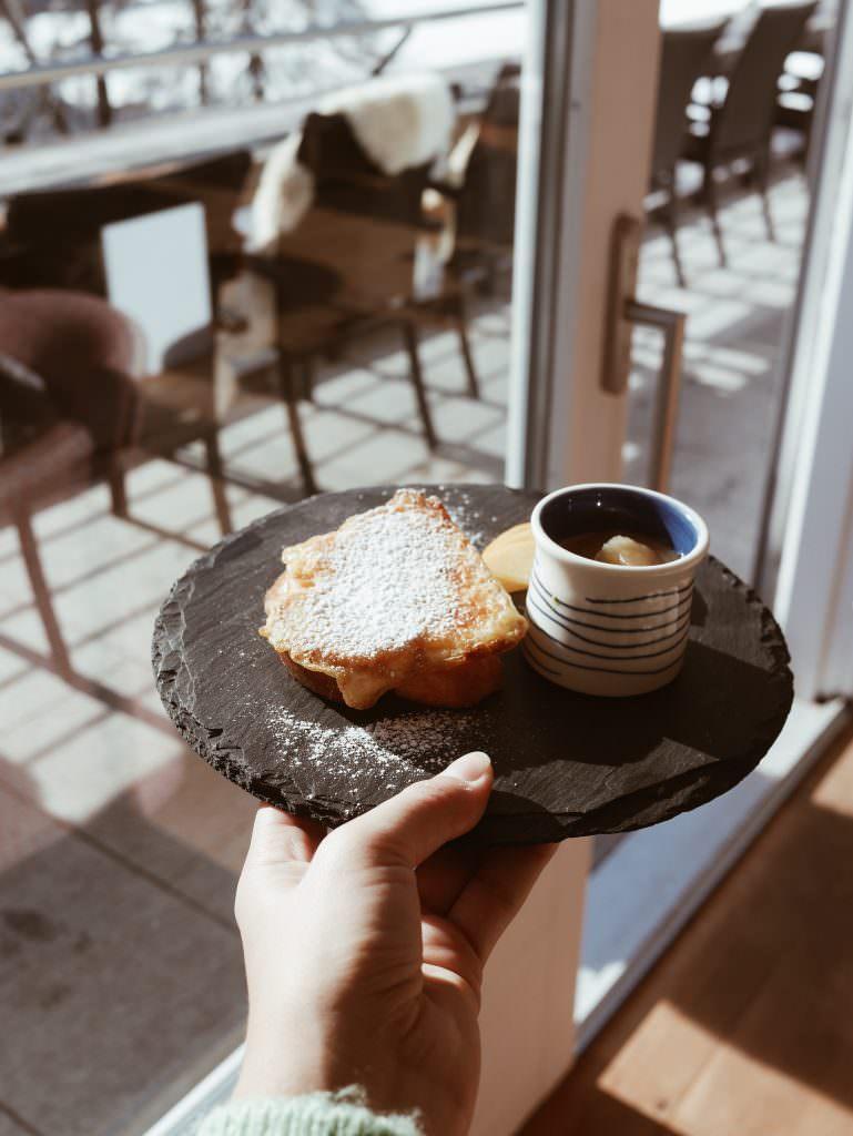 Hotel Paradies Ftan petit-déjeuner