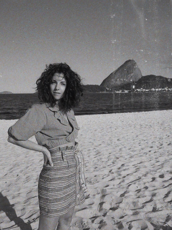 flamengo beach rio de janeiro beauty black and white