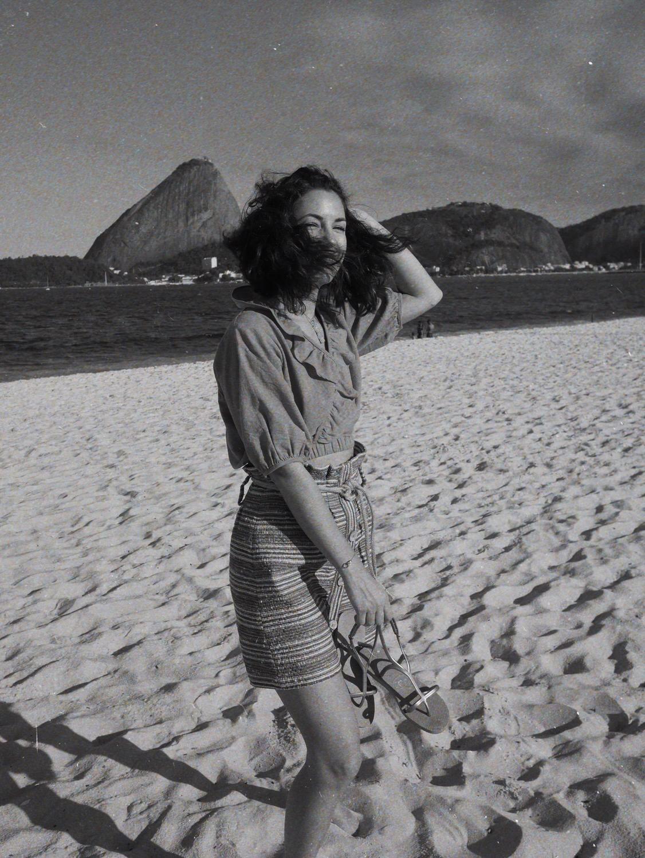 Rio Flamengo beach dove campagne