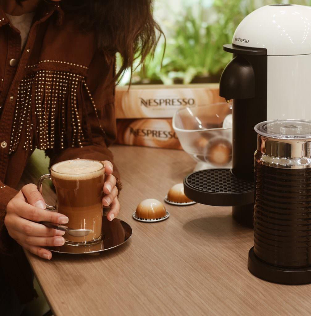 Nespresso barista creations vertuo