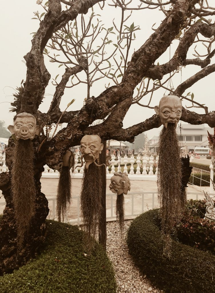 White-temple_creepy-heads