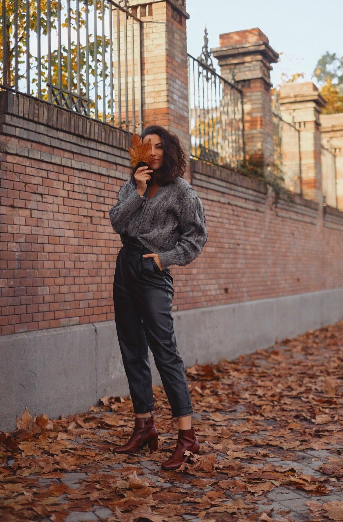 Ecco shoes bottes marron automne Morgane Schaller mode