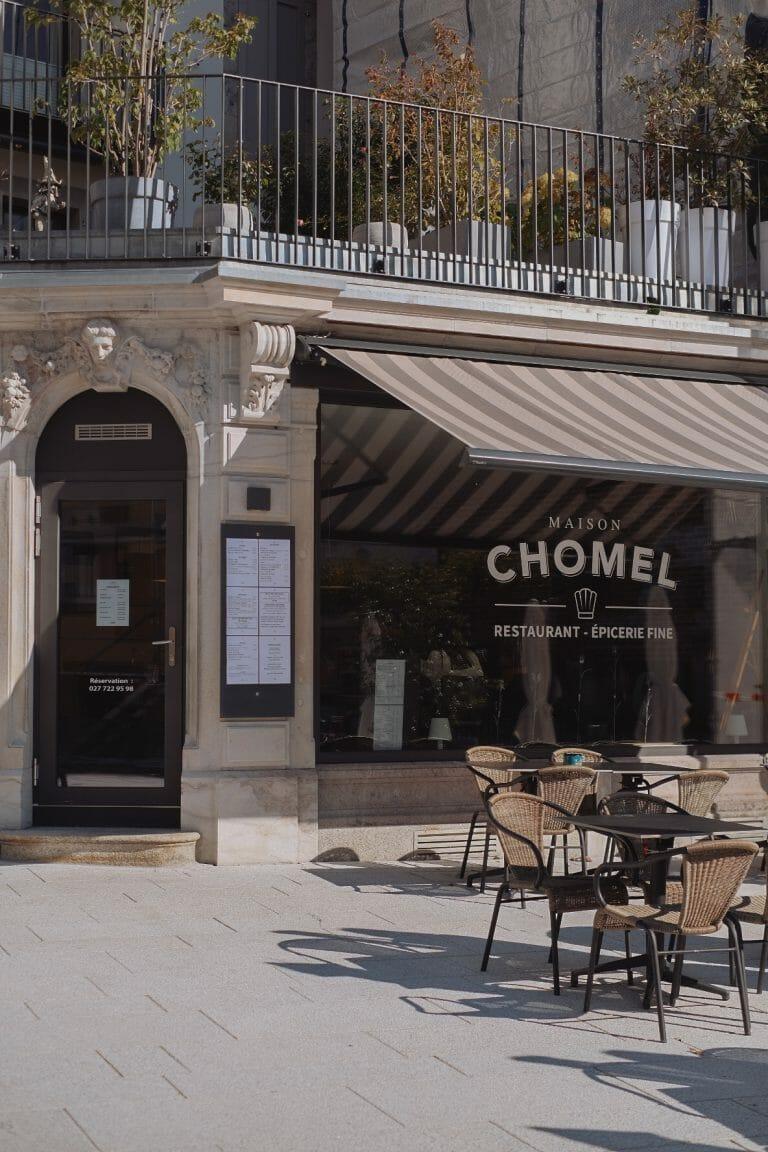Valais Maison Chomel Restaurant gourmand