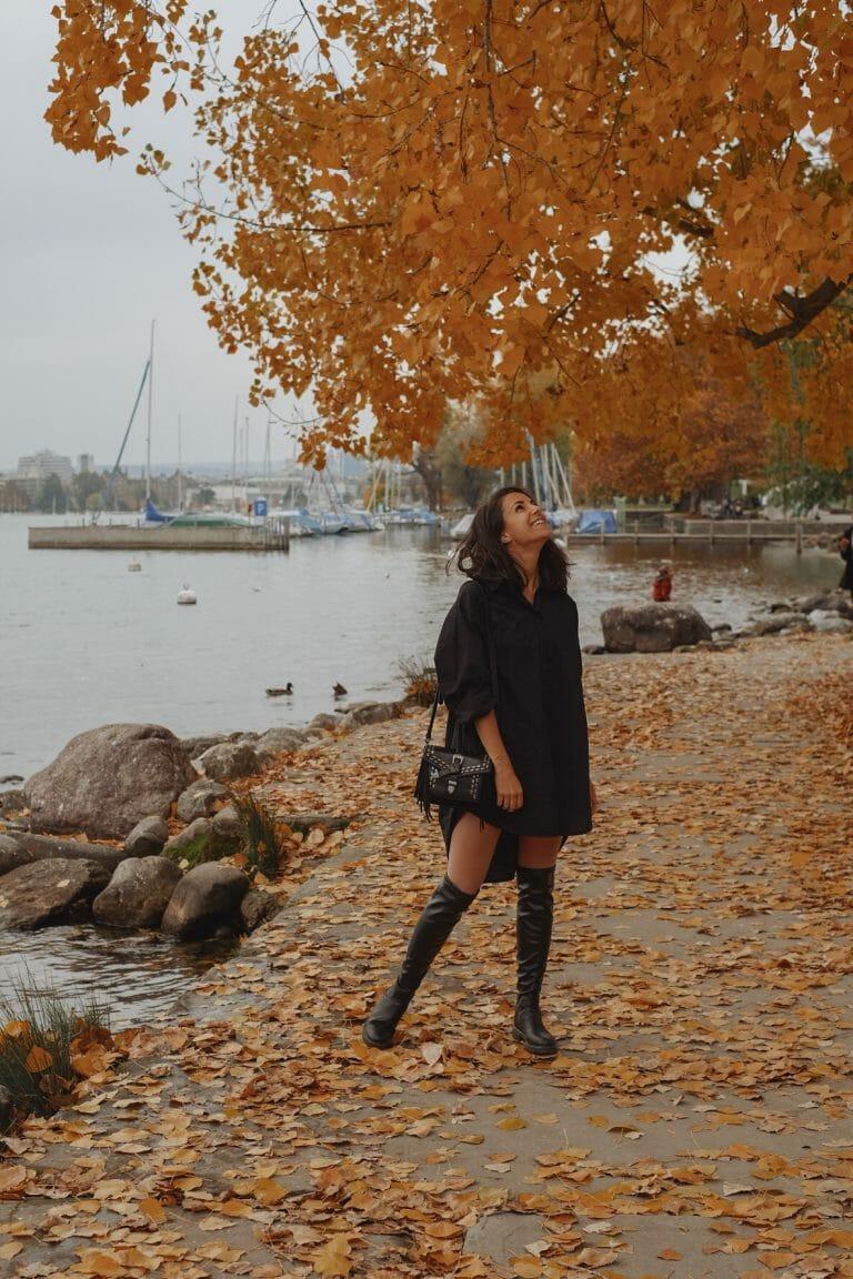 Morgane Schaller blogueuse Zurich Seefeld lac